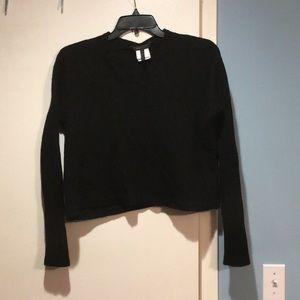 BCBG crop sweater